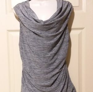 Gray lace top very sexy size L